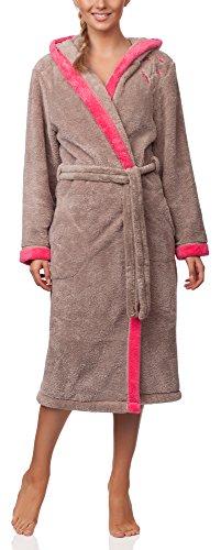 L & L women's bathrobe with hood LL0030