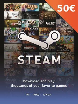 [Gamivo] 50 € Steam Guthaben für 45,12 €
