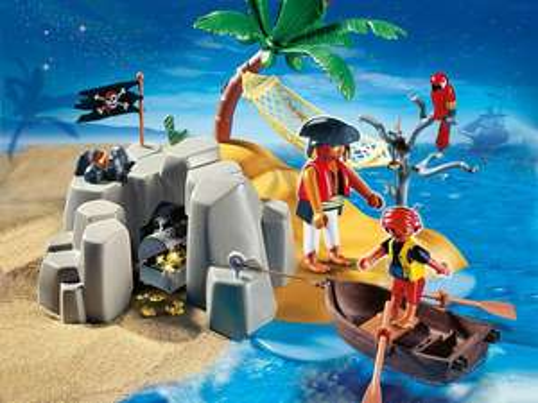 Playmobil Spielesets z. B. 4139 Pirateninsel