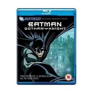 Batman: Gotham Knight (UK Blu Ray)  für 2,85 € @ WowHD.uk