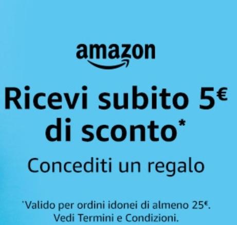 Amazon Italien & Spanien 5€ Gutschein (25€ MBW) Deutschland ab 30€ MBW