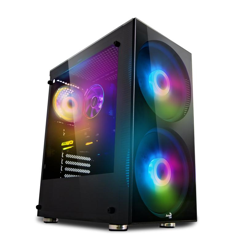 Gaming PC [konfigurierbar] Ryzen 3600, RX 5500 XT 8GB, 16GB DDR4-3000, 250GB NVMe SSD + 1TB QLC SSD, B450, 600W BeQuiet Bronze NT, ohne OS