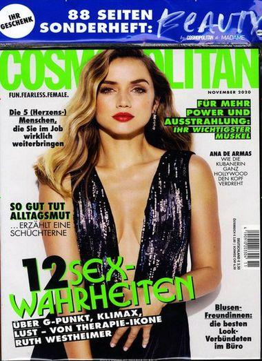 Cosmopolitan Abo für 39,60 Euro mit 50 Euro Prämie