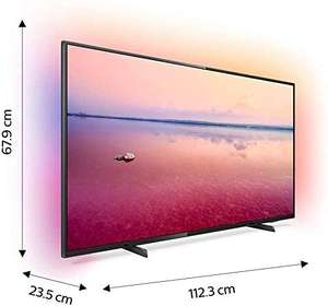 PHILIPS Ambilight LED Smart TV 50PUS6704/12, (50 Zoll), 4K UHD, HDR 10+, Dolby Vision, Dolby Atmos