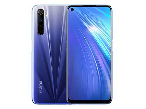 [Amazon oder MM] realme 6 6,5 Zoll FHD+ Display DualSIM Smartphone 8GB RAM + 128GB ROM Quad-Kamera 90Hz Display Comet Blue