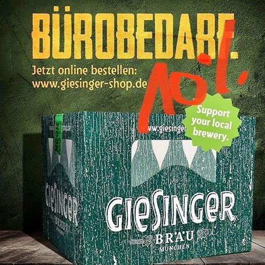 10% auf Bier & mehr (im Giesinger Shop - Bis 01.11.2020)