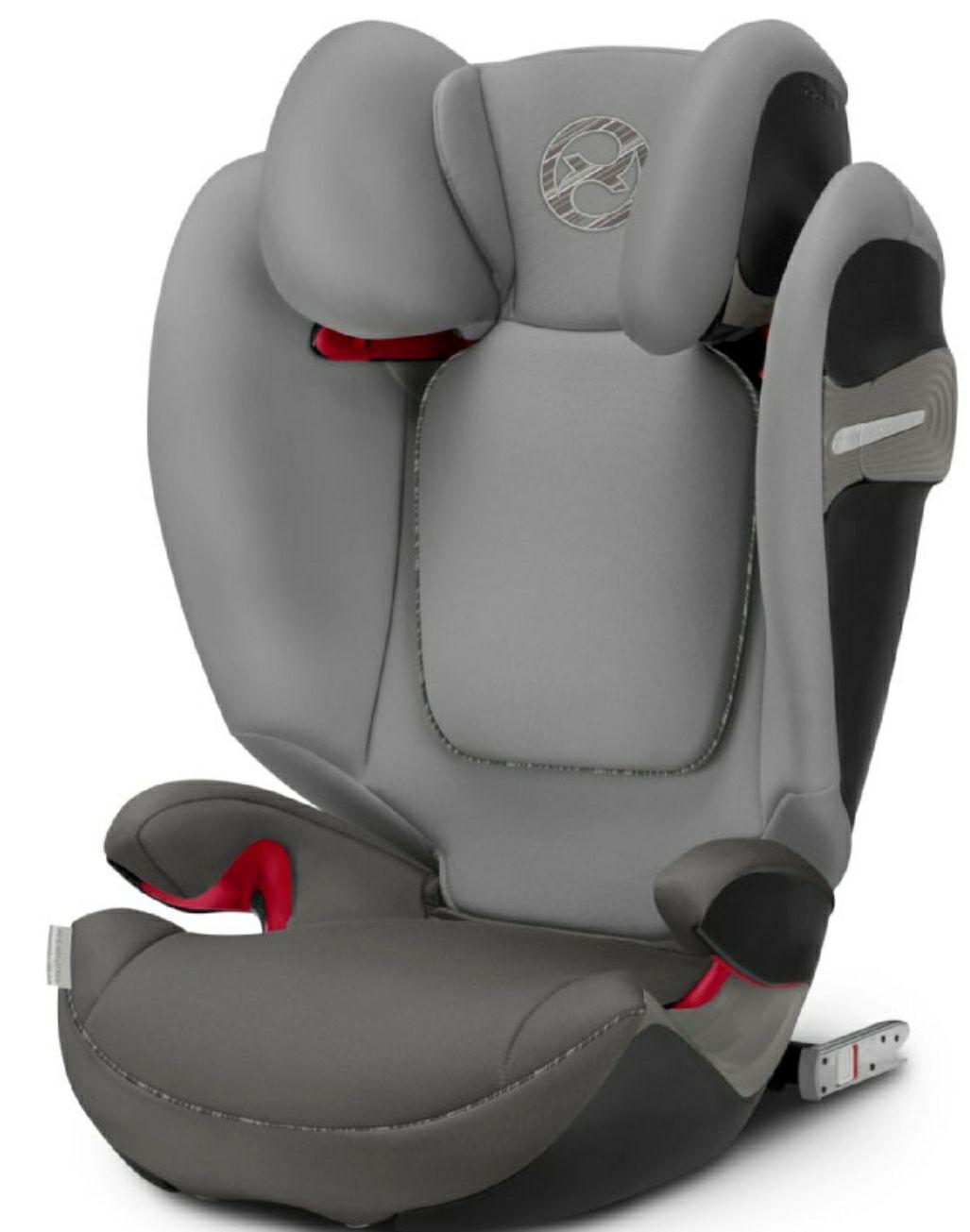 Kindersitz Cybex Solution S-Fix Manhattan Grey