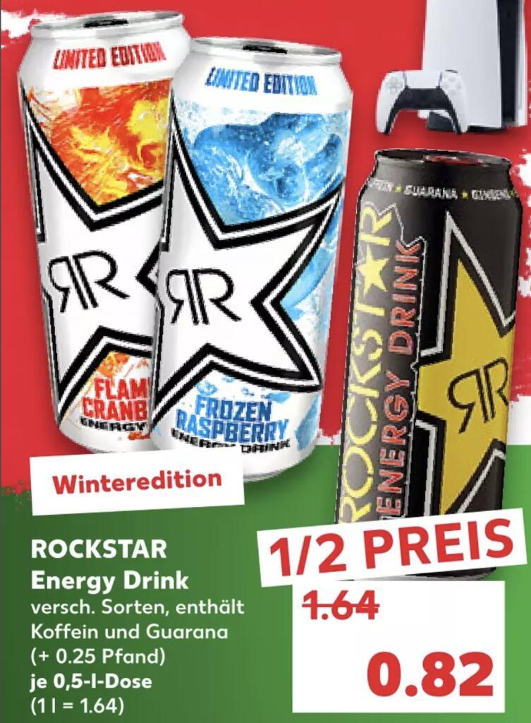 Rockstar Energy versch. Sorten für je 0,82€