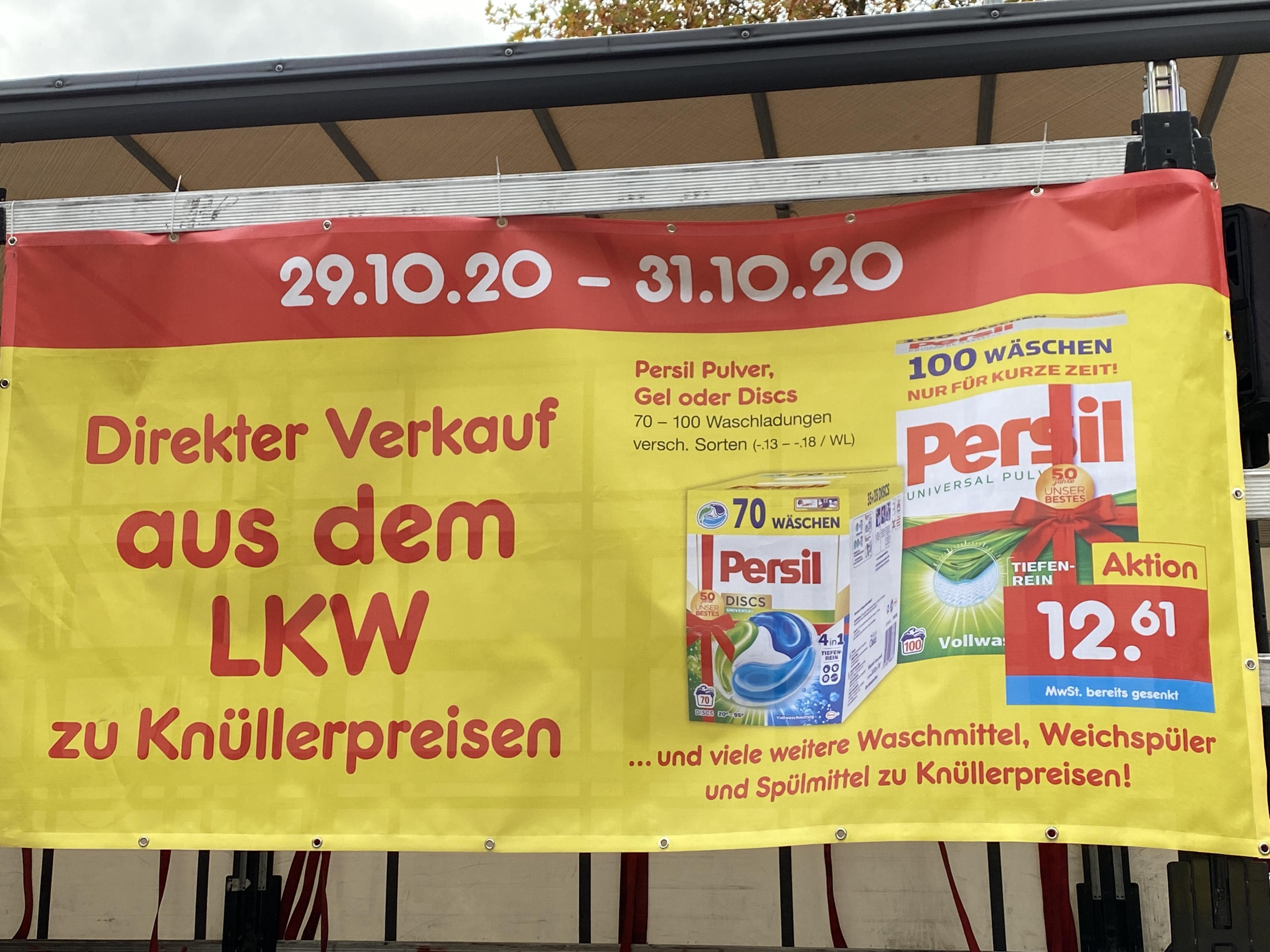 [LOKAL Iserlohn] PERSIL 100 WÄSCHE 12,61€