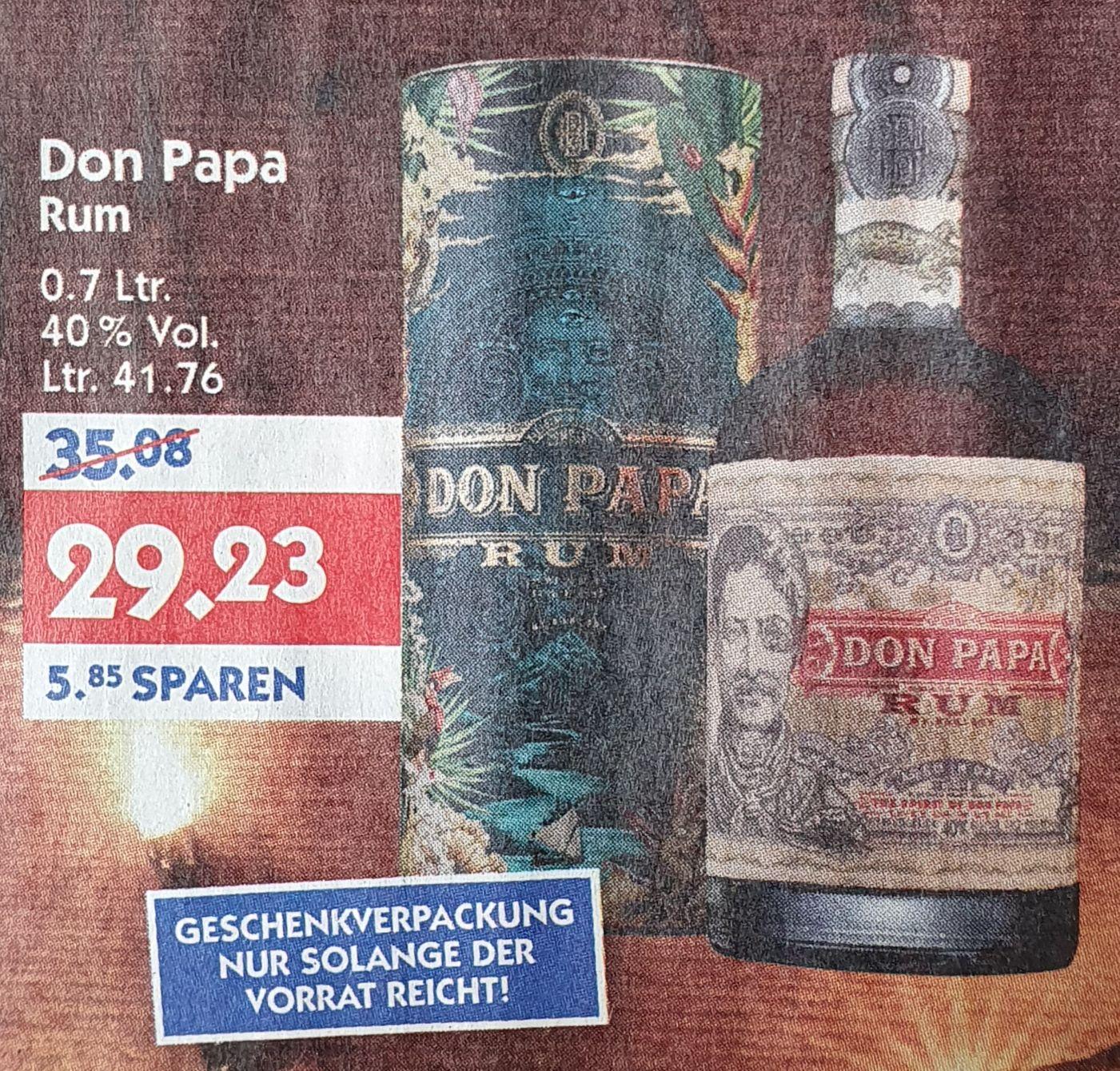 Don Papa Rum mit Geschenkverpackung bei Hol'ab