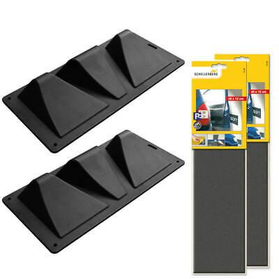 Schellenberg Einparkset mit 2 x Einparkhilfe zum Aufschrauben + 2 x Tür Protect Türschutz