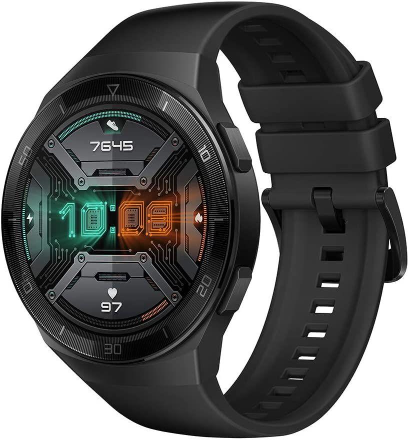 "Huawei Watch GT 2e Sport - 46 mm 1,39"" AMOLED Smartwatch (2 Wochen Akku, GPS, kompatibel mit iOS- & Android) Schwarz, Mintgrün oder Lavarot"