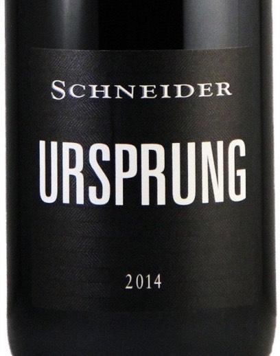 4 Flaschen Ursprung Rotwein von Markus Schneider - Amazon Prime