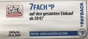 7Fach Payback Punkte bei Fressnapf