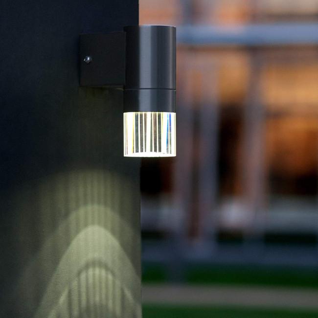 Lutec Design LED Außenleuchte Wandleuchte IP44 Wand Leuchte Aussen | 240 Lumen
