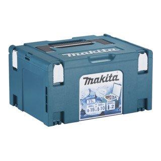 Makita MAKPAC-Kühlbox Gr. 3 mit Isolierauskleidung, Volumen 11 l + Bitbox (oder anderen Füllartikel)