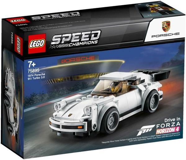 LEGO Speed Champions - 1974 Porsche 911 Turbo 3.0 (75895) und Ferrari F40 Competizione (75890) für je 11,47 Euro [Thalia Klub-Mitgliedschaft