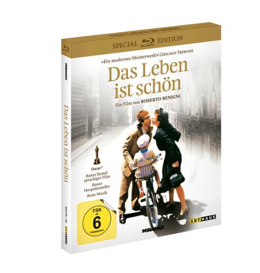 Das Leben ist schön (Special Edition) und Der Junge im gestreiften Pyjama [Blu-ray] für je 4,99€ (MM Abholung)