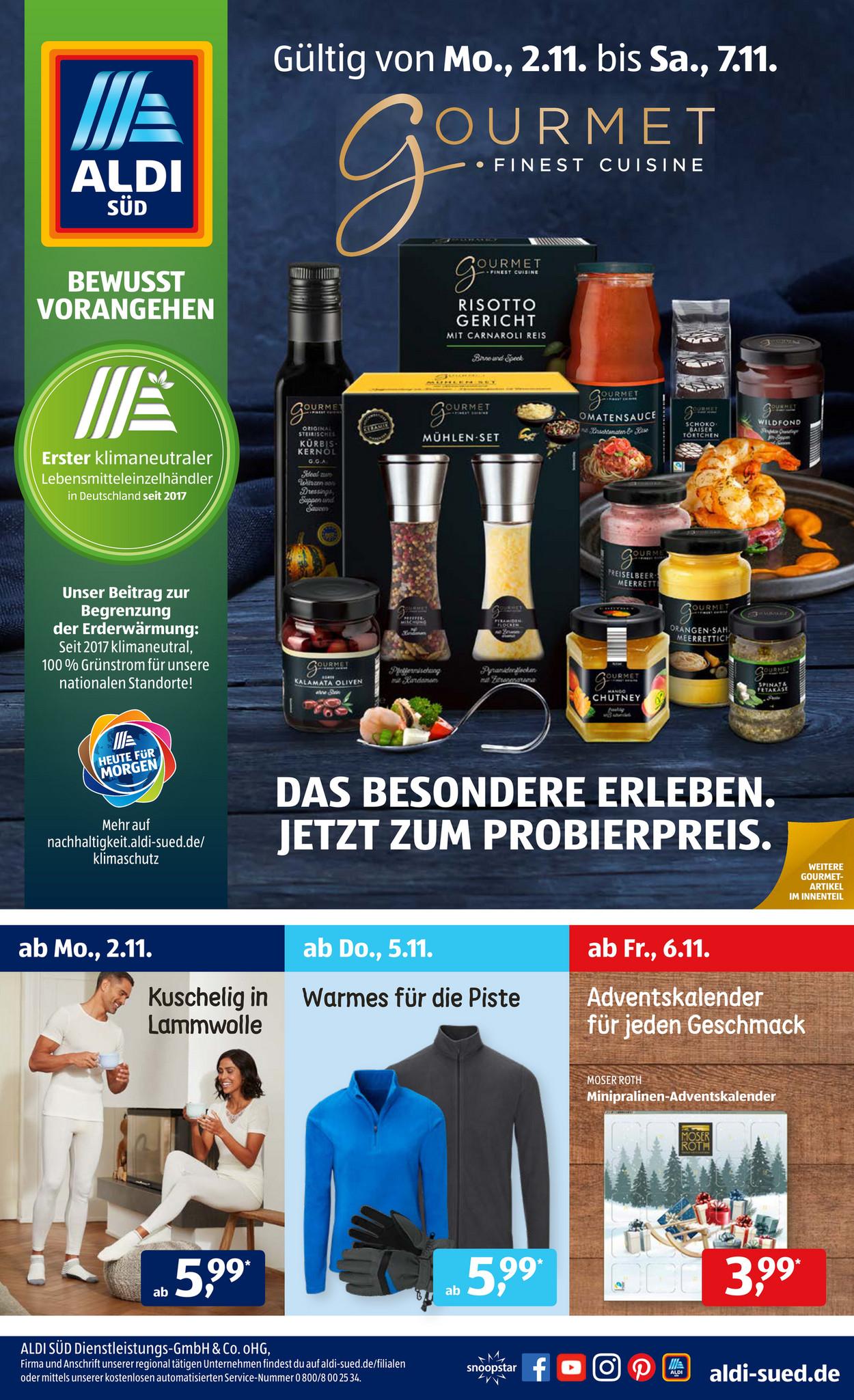 Aldi Süd 06.11.2020 - Pick Salami Spezialitäten verschiedene Sorten im Angebot
