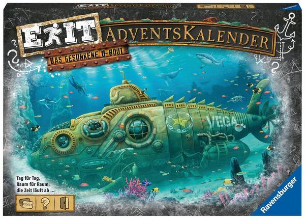 EXIT Adventskalender - Das gesunkene U-Boot
