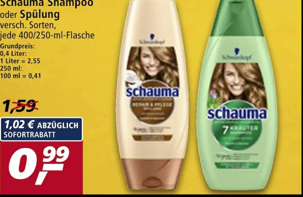 REAL - Schauma Shampoo oder Spülung