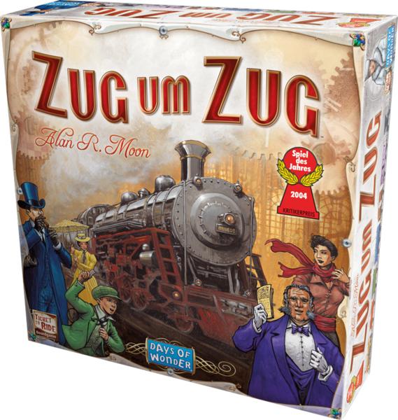 Zug um Zug. Spiel des Jahres 2004 für 25,49€ @ Thalia
