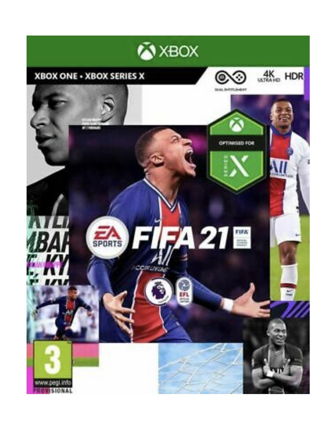 FIFA 21 XBOX Edition