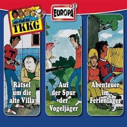 TKKG Hörspiele als MP3 Download