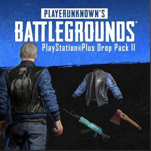 Kostenlos : PUBG PlayStationPlus Drop-Pack II (PS4) (PSN Store PS+)