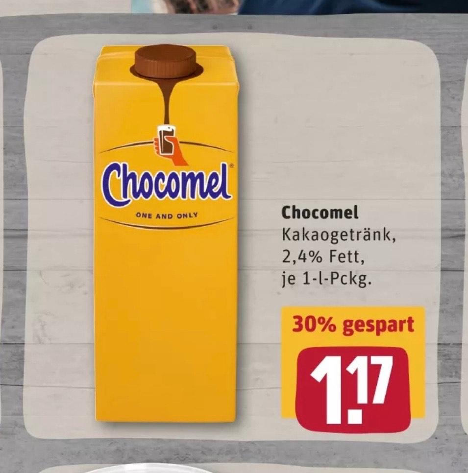 Chocomel für 1,17€ je 1 Liter Packung [Rewe] [Anscheinend nicht in Brandenburg und Nord-Westen]