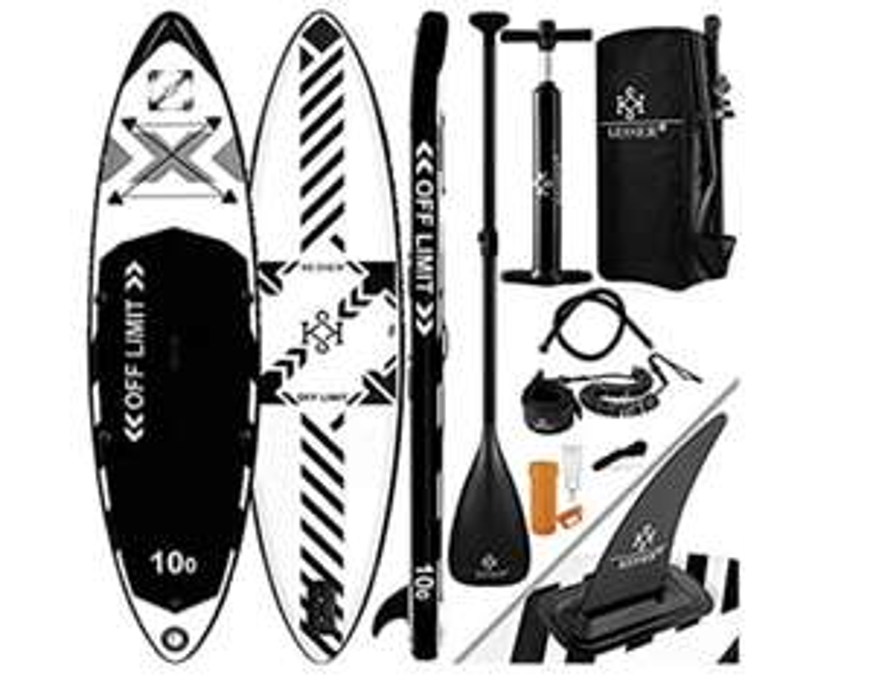 KESSER® Aufblasbare SUP Board Set Stand Up Paddle Board | 366x76x15cm 12.0'