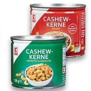 [Kaufland] K-CLASSIC 150g-Dose Cashewkerne (lokal auch nur 1,48€/150g)