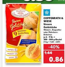 Kaufland - Coppenrath & Wiese Brötchen Goldstücke / Rockstar 0,82 /