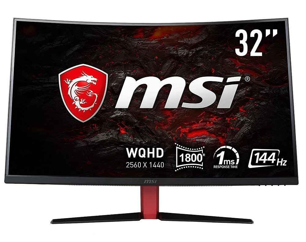 MSI LED-Monitor (2560x1440, WQHD, 1 ms Reaktionszeit, 144Hz) »Optix AG32CQ-8015«