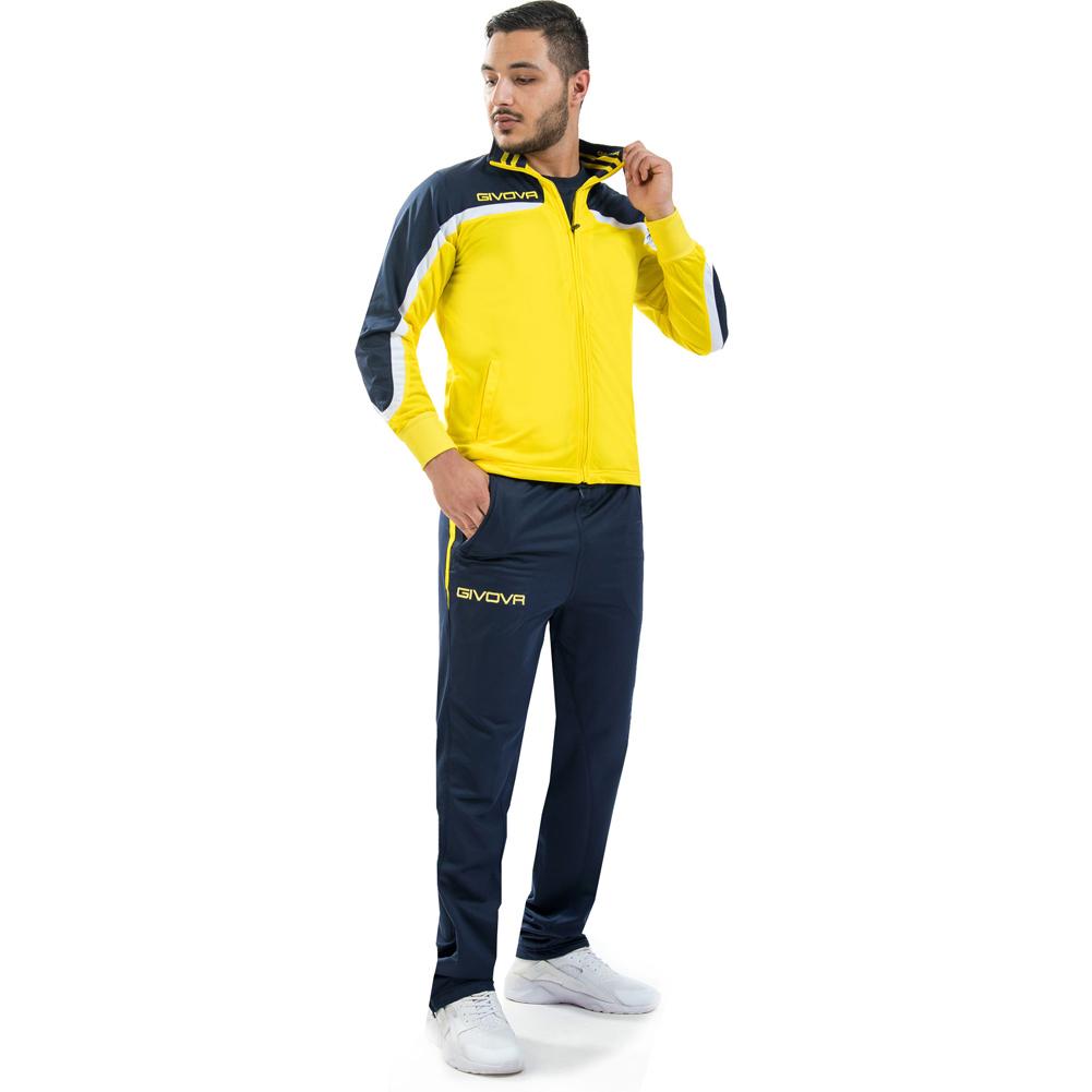 """Givova Trainingsanzug """"Tuta Europa Full Zip"""" für 9,99€ + 3,95€ VSK (Größe S - M, Kinder-Größen 5XS - XS) [SportSpar]"""