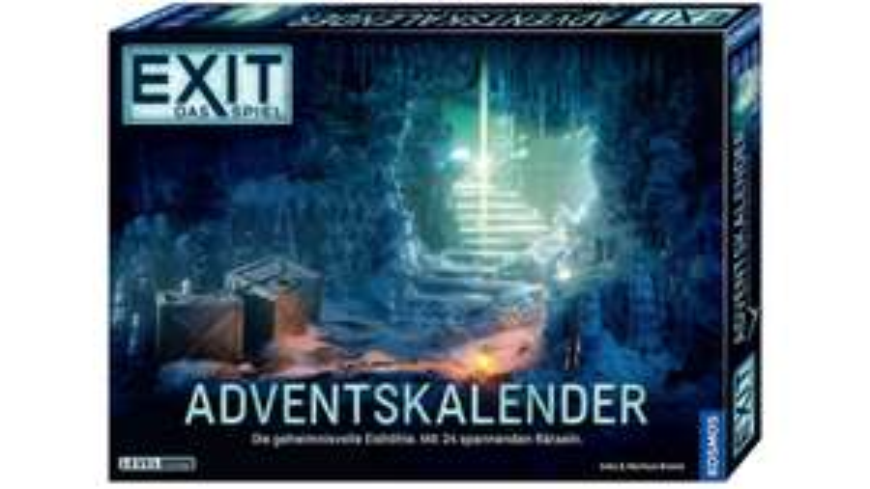 [Müller lokal bundesweit] KOSMOS Exit Adventskalender - Die geheimnisvolle Eishöhle