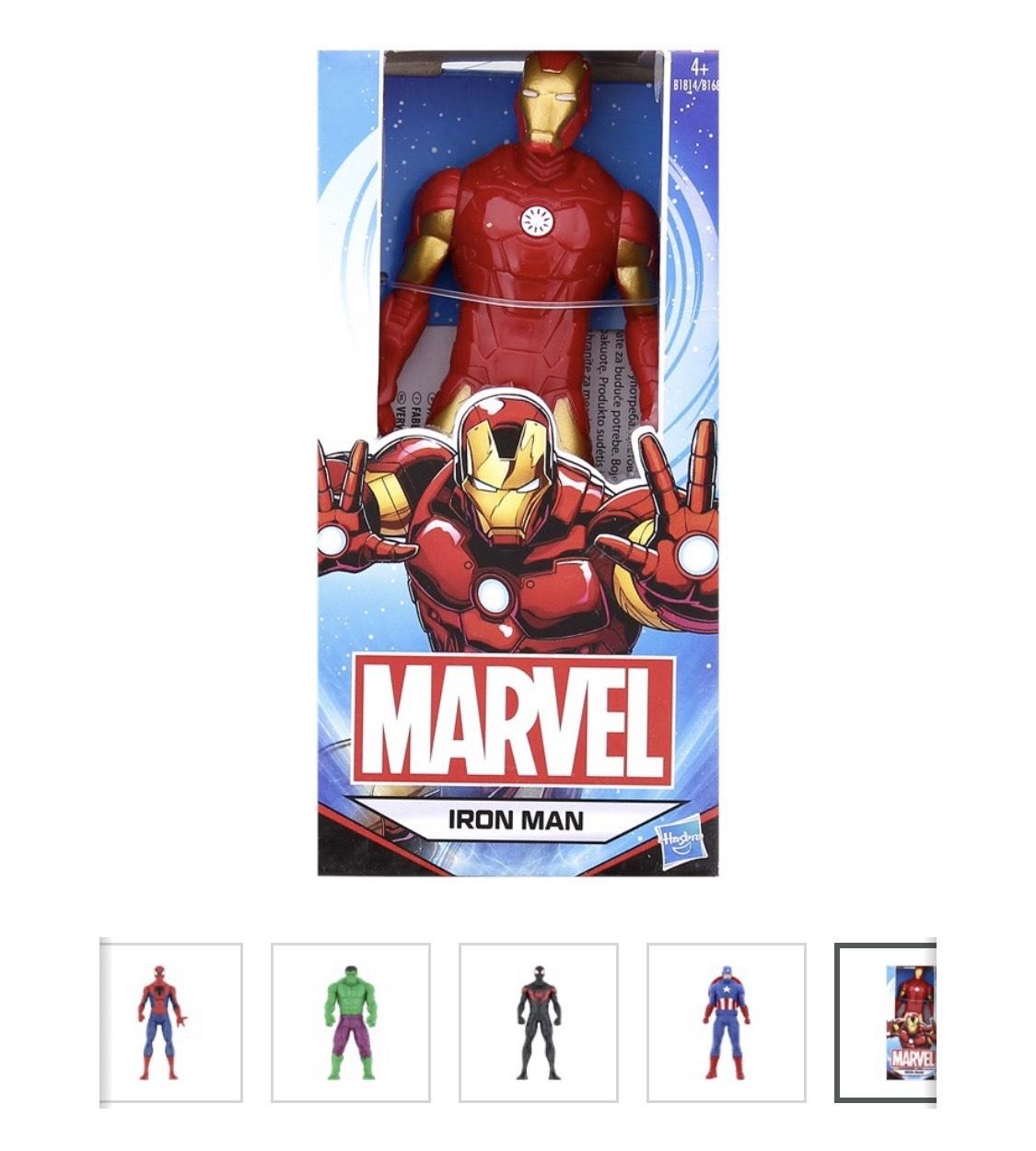 Marvel-Figuren- verschiedene Varianten
