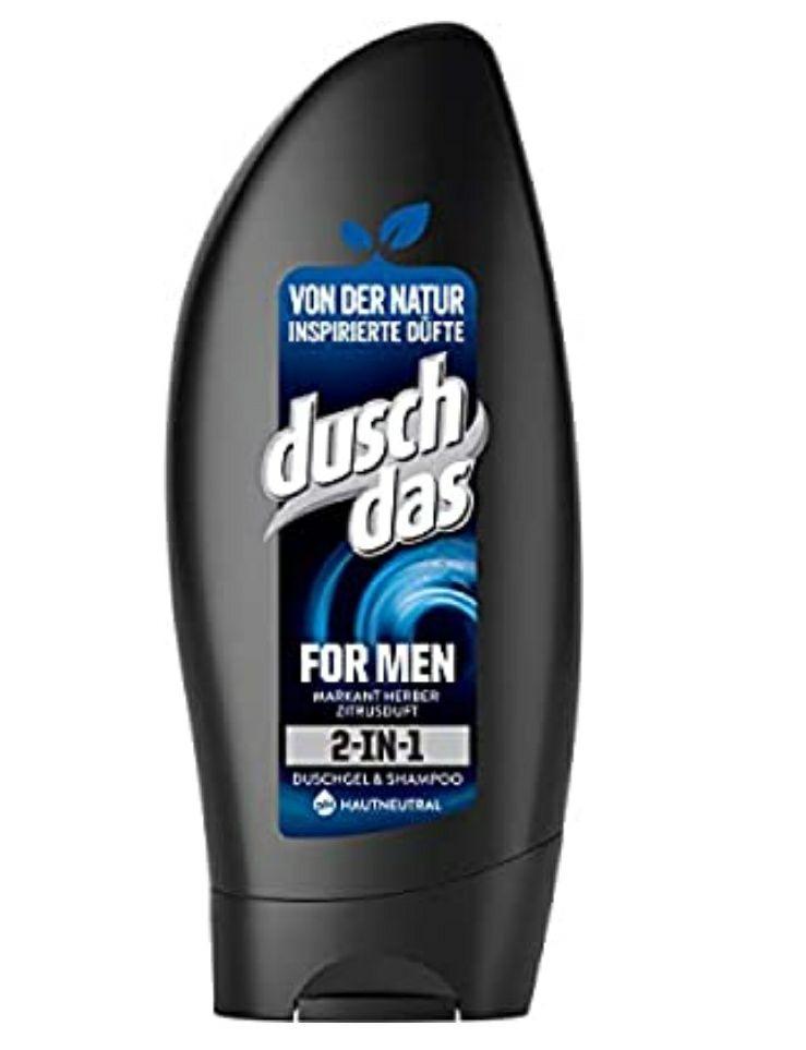 Duschdas 2-in-1 Duschgel & Shampoo, 6er Pack (6 x 250 ml)