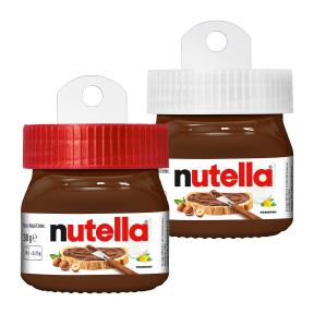 [ALDI Nord ab 13.11] [ALDI Süd ab 20.11] [Kaufland ab 19.10, 0,78€] Nutella Baumschmuck 30g Mini-Gläser