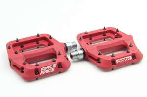 Fahrrad Pedal RaceFace Chester (360g) - Rot