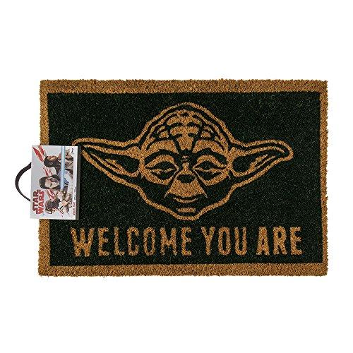 (Amazon) Fußmatte - Star Wars - Welcome You Are | Yoda Fußmatte