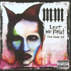 "CD - Marilyn Manson ""Lest We Forget"" (The Best Of) für €4,54 [@Zavvi.com]"