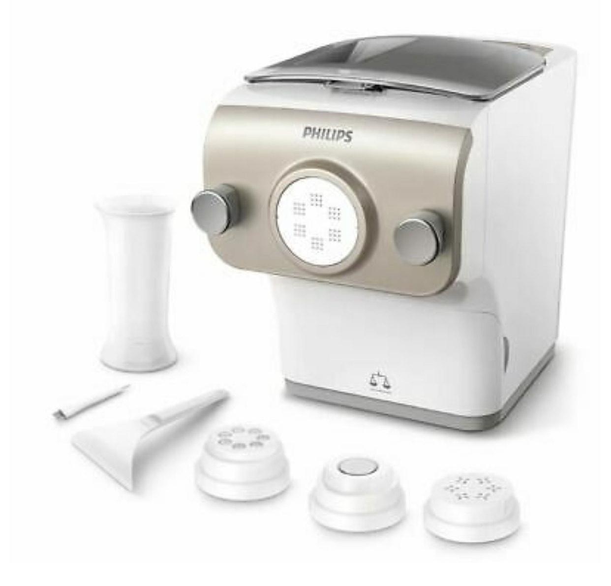 PHILIPS Nudelmaschine Avance Collection HR2380/05 Pastamaker 200W