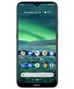 Nokia 2.3 + 64GB SD Karte + 2xGoogle Home Mini + weiteres Zubehör im Blau Allnet Flat XL 7 GB LTE für 9,99€ monatlich & 9,99€ einmalig