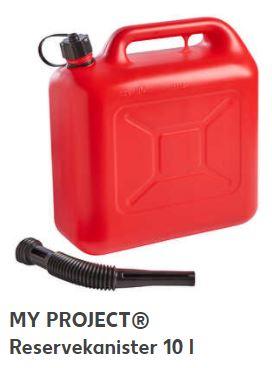 Reservekanister 10 Liter für 3,89 Euro, oder den 20 Liter-Kanister für 4,86 Euro [Kaufland]