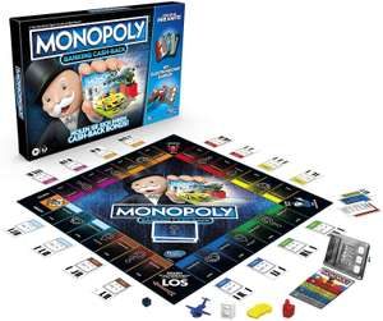 Monopoly Banking Cash-Back Brettspiel, Globus