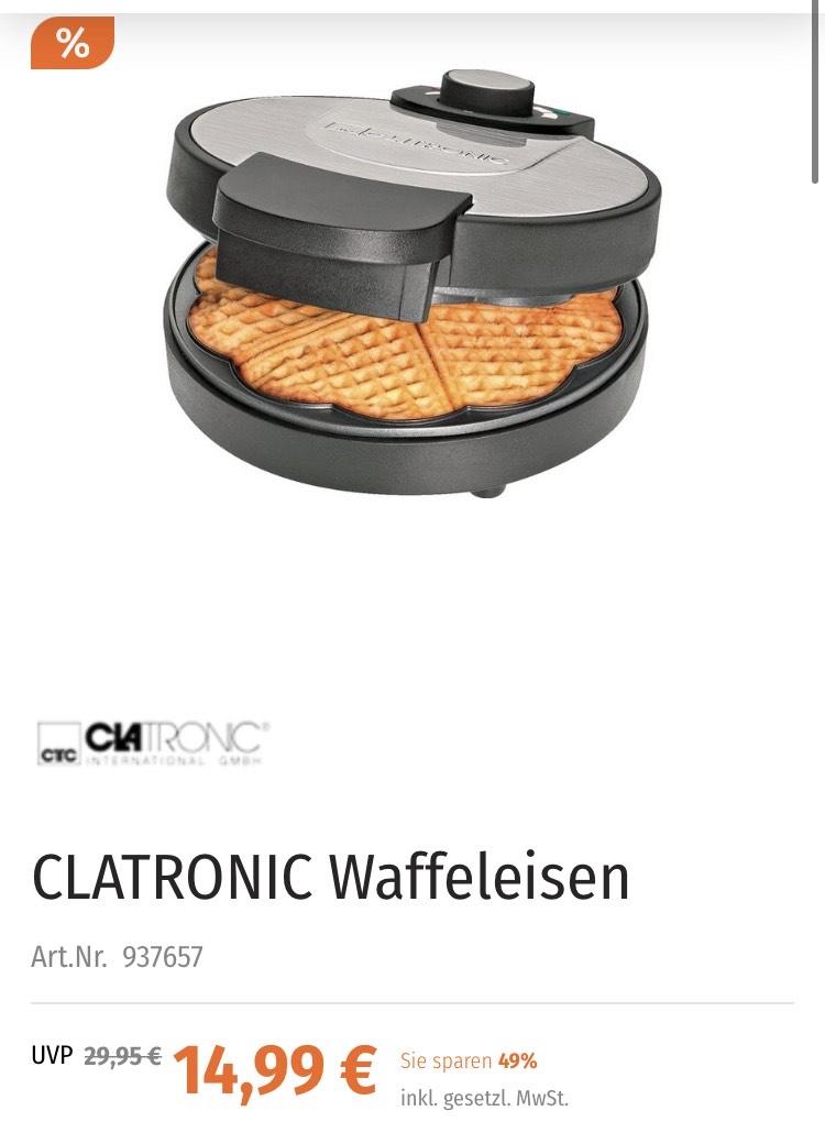 CLATRONIC Waffeleisen