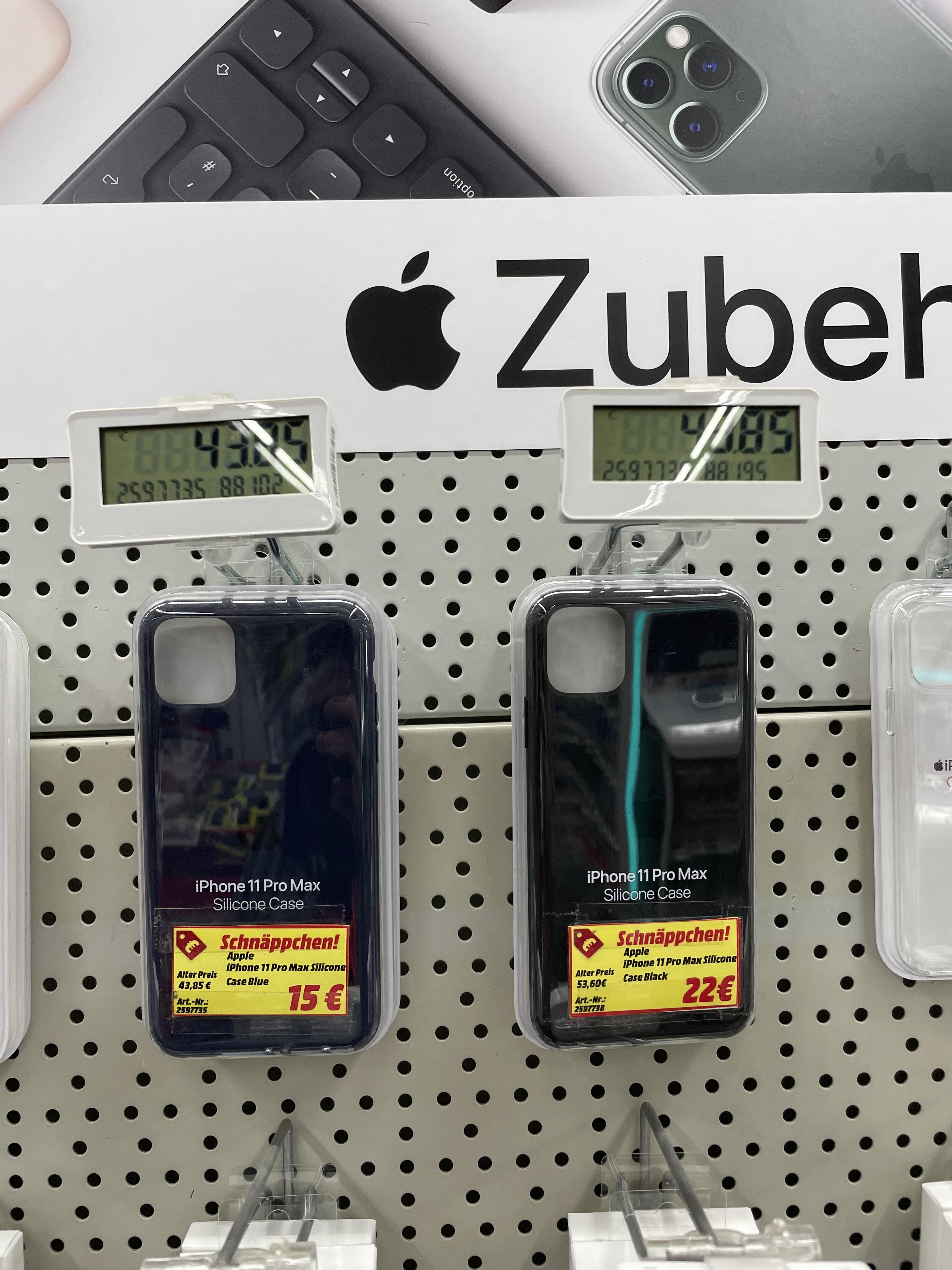 [Lokal MediaMarkt Waltersdorf] Apple iPhone 11 Pro Max Silikon Case