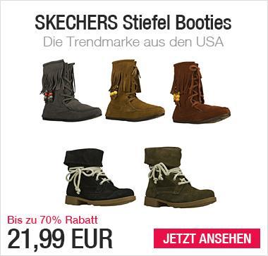 Damen Stiefel Echtes Leder SKECHERS 21,99EUR