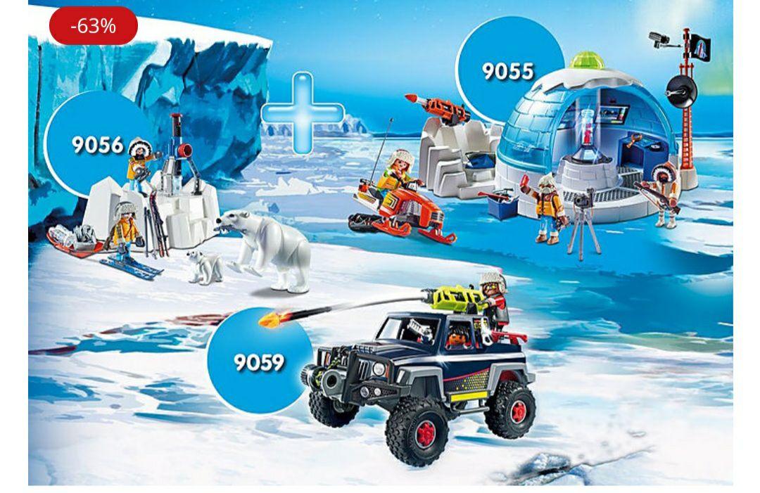 Playmobil Bundle Polar-Expedition 9055, 9059, 9056 im playmobil shop
